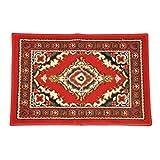 Oriental 96089 Perserteppich mit orientalischen Mustern, für Kraftfahrzeug, 60 x 40 cm, 1 Stück, rot