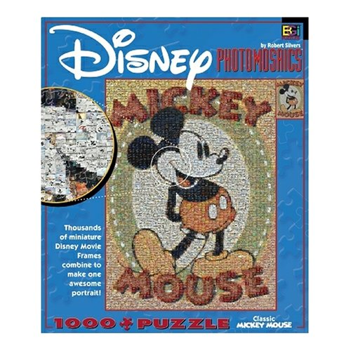 Cheap Fun Buffalo Games Disney Photomosaic Classic Mickey 1000 Piece Jigsaw Puzzle (B000BKXCZ4)
