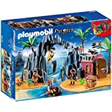 Playmobil 6679 Pirate Treasure Island Playset with 3 Pirates