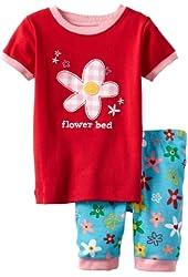 Hatley Little Girls'  Short Pajama Set