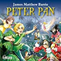 Peter Pan: Excellent for Bedtime & Young Listeners Audiobook by J. M. Barrie Narrated by Matthew Zamoyski