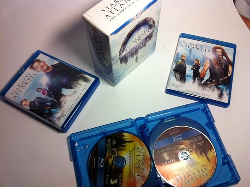 On a testé pour vous: Version BluRay de Stargate Atlantis 61N57bCf24L