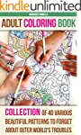 Adult Coloring Book: Collection Of 40...