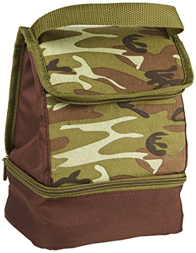Fit & Fresh Austin Insulated Lunch Bag, Forest Camo - 1
