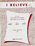 img - for I BELIEVE [sheet music] book / textbook / text book