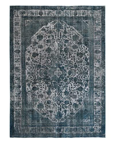 Kalaty One-of-a-Kind Pak Vintage Rug, Gray/Blue, 8' 3 x 10' 11