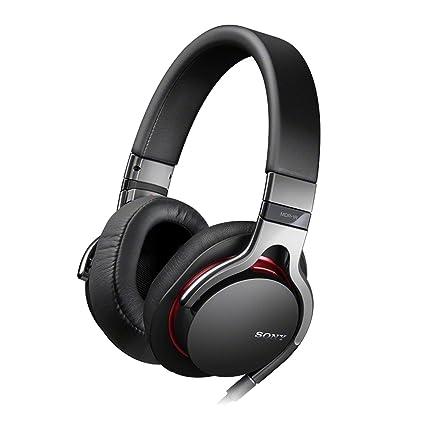 Sony MDR-1RB.CE7 Casque avec Télécommande intégrée + cordon microphone pour iPhone/iPod/iPad Noir
