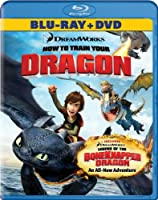 How To Train Your Dragon Two-disc Blu-raydvd Combo Dragon Double Pack Blu-ray by DreamWorks
