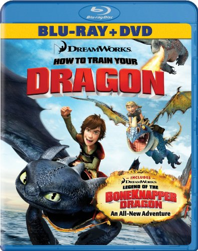 Cover art for  How to Train Your Dragon (Two-Disc Blu-ray/DVD Combo + Dragon Double Pack) [Blu-ray]