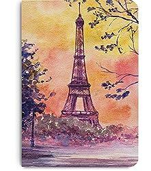 DailyObjects Paris Watercolor A5 Notebook Plain