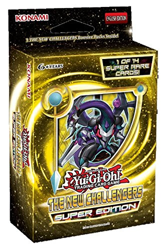 Yu-Gi-Oh! New Challengers SE HOBBY Special Super Edition TCG Cards Booster Mini-Box - 3 packs + 1 Super Rare Card - 1