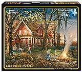 White Mountain Puzzles Autumn Evening - 1000 Piece Jigsaw Puzzle