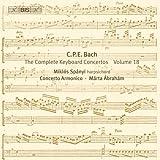 C.P.E.バッハ: チェンバロ協奏曲全集Vol.18 (C.P.E.Bach : Keyboad Concertos Vol.18 / Spanyi, Concerto Armonico Budapest) [輸入盤]