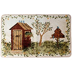 Outhouses Bath Rug