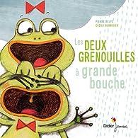 Les deux grenouilles à grande bouche par Delye