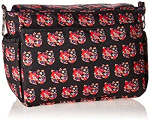 Ju-Ju-Be Hello Kitty Collection Better Be Messenger Diaper Bag, Hello Perky by Ju Ju Be