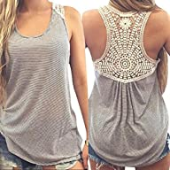 Mosunx(TM) Sexy Women Lace Vest Top S…