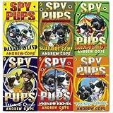 Andrew Cope Spy Pups collection 6 Books set (Danger Island, Prison Break, Survival Camp, Training School, Treasure Quest and Circus Act)
