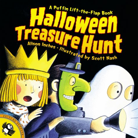 Halloween Treasure Hunt (Lift-the-Flap, Puffin), Alison Inches