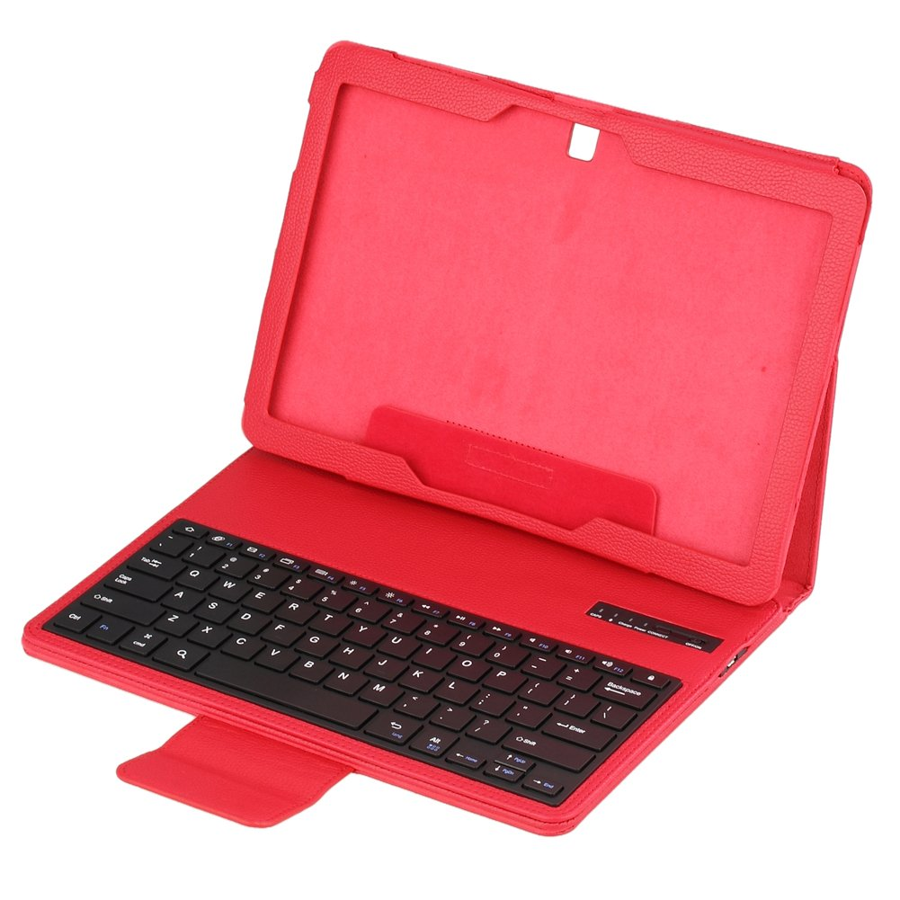 Koolertron Removable Bluetooth ABS Keyboard Leatherreviews and more information