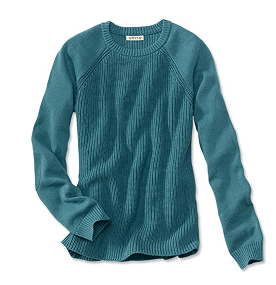Orvis Women's Heathered Elbow-patch Sweater