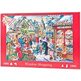 "1000 Piece Jigsaw Puzzle - 2015 Christmas Collectors Edition No.10 - Window Shopping ""NEW JULY 2015"""
