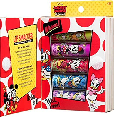 Cheapest Lip Smacker Disney Story Book Mickey Mouse and Friends Lip Gloss Set, 5 Count by Markwins Beauty Products - Free Shipping Available