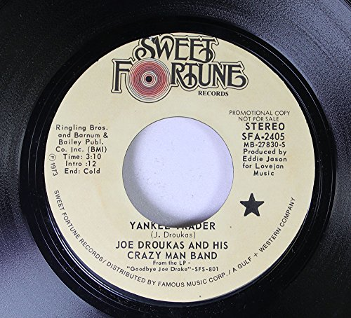 joe-droukas-and-his-crazy-man-band-45-rpm-goodbyes-yankee-trader