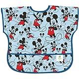 Bumkins Disney Baby Waterproof Junior Bib, Mickey Classic, 1-3 Years