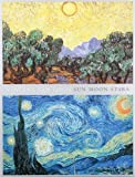 img - for Van Gogh Sun Moon Stars Portfolio Notes book / textbook / text book