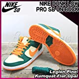 NIKE(ナイキ) ダンク ロー プロ アンバック DUNK LOW PRO SB UN-BUCK Legion Pine/Kumquat-Flat Opal/メンズ(men's) 靴 スニーカー(304292-383)