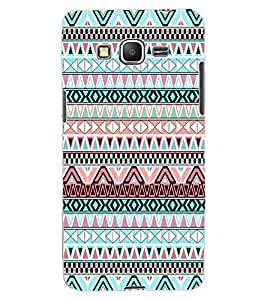 ColourCraft Tribal pattern Design Back Case Cover for SAMSUNG GALAXY GRAND PRIME DUOS TV G530BT