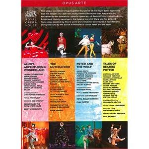 Ballets pour les enfants : Alice au pays des merveilles, Pierre et le Loup,