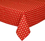 CPM Handlooms Cotton Table Cloth - Red