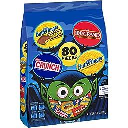 Nestle Assorted Halloween Chocolate Bag, 41 Ounce