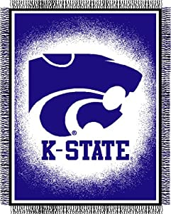 NCAA Triple Woven Jacquard Throw NCAA Team: Kansas State by Northwest