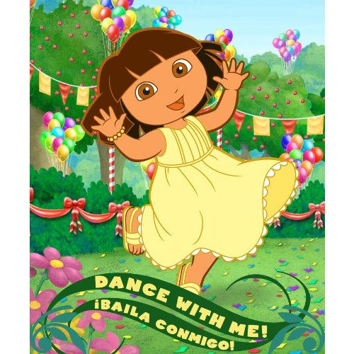 Dora the Explorer Dance with Me Fleece - 1