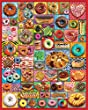 White Mountain Puzzles Donuts and Pastries - 1000 Piece Jigsaw Puzzle
