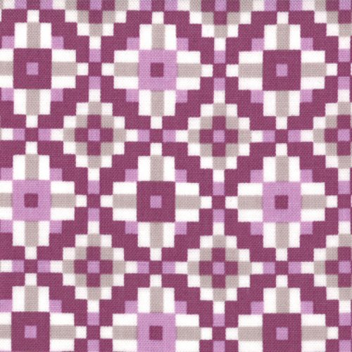 Serenade Kaliedoscope Danson 27115 22 By Kate Spain Quilt Fabric- 1/2 Yd BTY for Moda