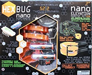 HexBug Nano Elevation 3D Glow-in-the-Dark Habitat Set