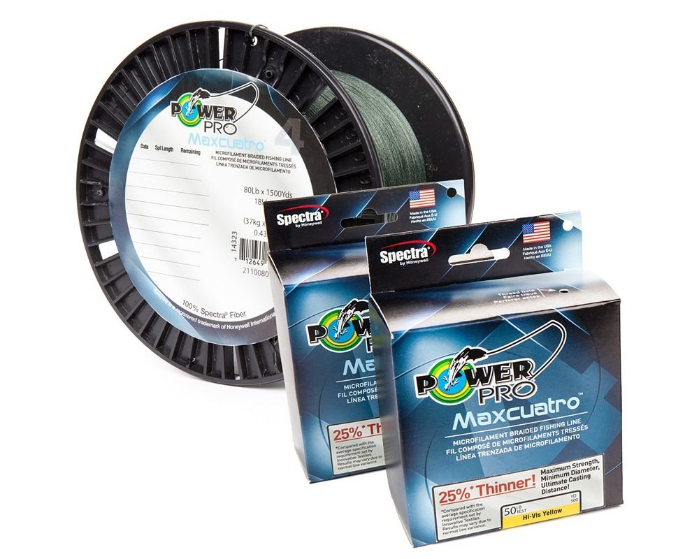 Review of power pro maxcuatro braided fishing line for Power pro fishing line