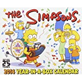 The Simpsons 2014 Year-in-a-Box Calendar