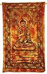 Orange Affiches Hanging Bouddha Tapis...