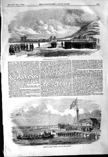 1854 Omer Pacha Boat Chek Pee Varna Execution Spy War