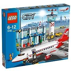 LEGO City 3182 - Großer Flughafen mit Passagierflugzeug und viel Zubehör ab 39,99 Euro inkl. Versand