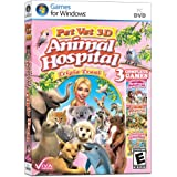 Pet Vet: Animal Hospital Triple Treat - 3 Complete Games in 1