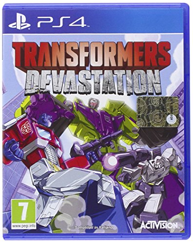 GIOCO PS4 TRANSFORMERS DEVASTATION