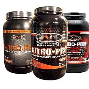 Muscleology Nitro-Pro Extreme Chocolate - 3 lbs (1360 g)