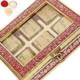 Ghasitaram Gifts Bhaidooj Red 6 Pcs Metal Box