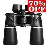 Powerful Binocular, Durable HD Binoculars for Adults, 7X50 Professional Bird Watching Hunting Sightseeing Travel Binoculars, Close Focus for Close Vie